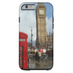 Caja del teléfono de Londres y Big Ben (St.K)