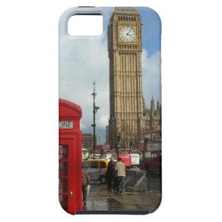 Caja del teléfono de Londres y Big Ben (St.K) Funda Para iPhone 5 Tough