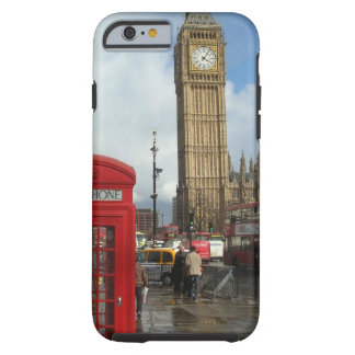 Caja del teléfono de Londres y Big Ben (St.K) Funda Para iPhone 6 Tough