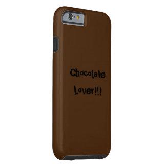 Caja del teléfono de los amantes del chocolate funda resistente iPhone 6