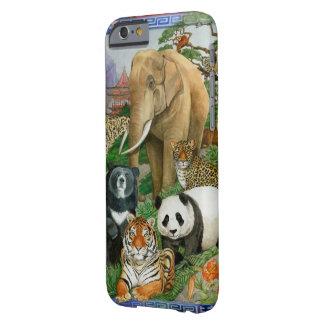 Caja del teléfono de los animales funda de iPhone 6 barely there