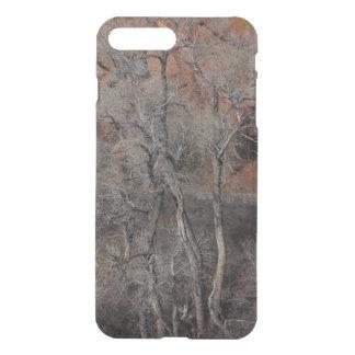 Caja del teléfono de los árboles del invierno fundas para iPhone 7 plus