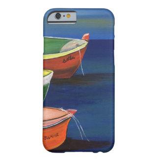 Caja del teléfono de los barcos de pesca de funda para iPhone 6 barely there