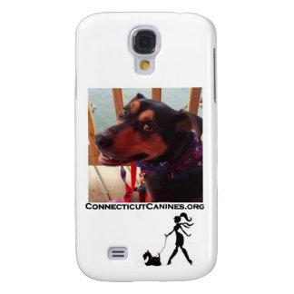 Caja del teléfono de los colmillos de Connecticut Funda Para Galaxy S4