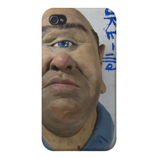 Caja del teléfono de los Cyclops iPhone 4 Carcasas