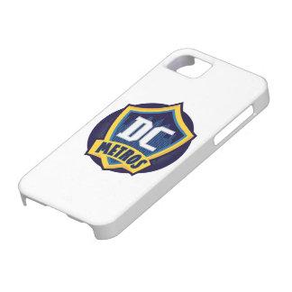 Caja del teléfono de los metros de Kickball DC de iPhone 5 Case-Mate Fundas