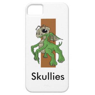 caja del teléfono de los skullies funda para iPhone 5 barely there
