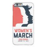 Caja del teléfono de marzo de las mujeres de San Funda Barely There iPhone 6