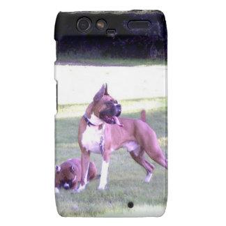 Caja del teléfono de Motorola Droid Razr del perro Droid RAZR Carcasa