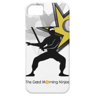 Caja del teléfono de Ninjas de la mañana de Gœd iPhone 5 Cárcasa
