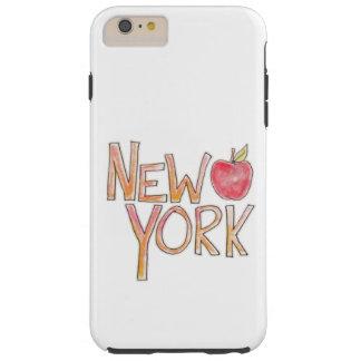 Caja del teléfono de Nueva York Funda Para iPhone 6 Plus Tough