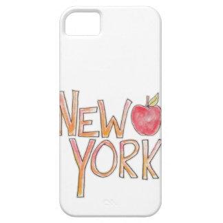 Caja del teléfono de Nueva York iPhone 5 Carcasas