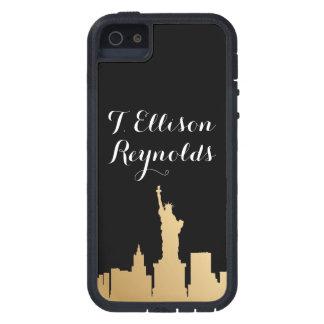 Caja del teléfono de Nueva York - SRF iPhone 5 Case-Mate Carcasa