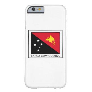 Caja del teléfono de Papúa Nueva Guinea Funda De iPhone 6 Barely There