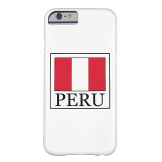Caja del teléfono de Perú Funda De iPhone 6 Barely There