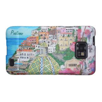 Caja del teléfono de Positano, Italia Samsung Galaxy SII Funda