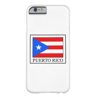 Caja del teléfono de Puerto Rico Funda Barely There iPhone 6