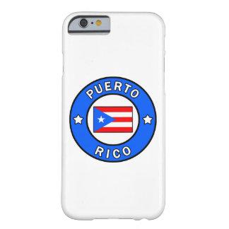 Caja del teléfono de Puerto Rico Funda De iPhone 6 Barely There