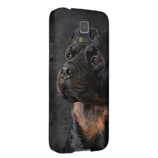 Caja del teléfono de Rottweiler Carcasas De Galaxy S5