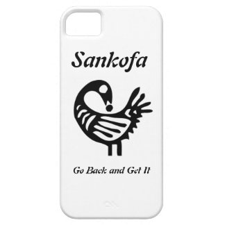 Caja del teléfono de Sankofa I iPhone 5 Carcasas