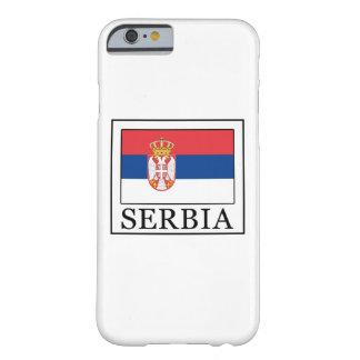Caja del teléfono de Serbia Funda De iPhone 6 Barely There