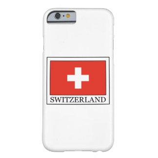 Caja del teléfono de Suiza Funda Barely There iPhone 6