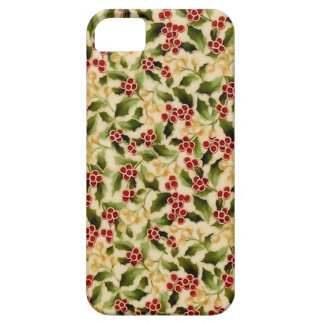 Caja del teléfono del acebo del navidad iPhone 5 Case-Mate coberturas