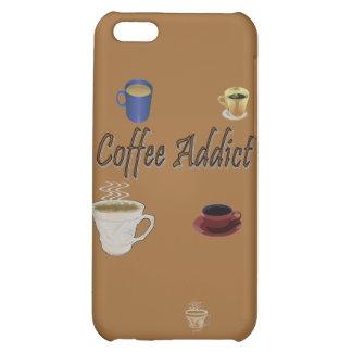 Caja del teléfono del adicto al café