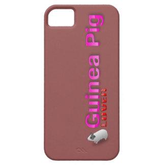 Caja del teléfono del amante del conejillo de funda para iPhone SE/5/5s