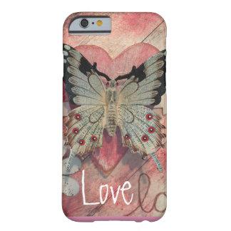 """Caja del teléfono del """"amor"""" funda barely there iPhone 6"""