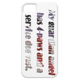 Caja del teléfono del ángel de guarda I iPhone 5 Carcasas