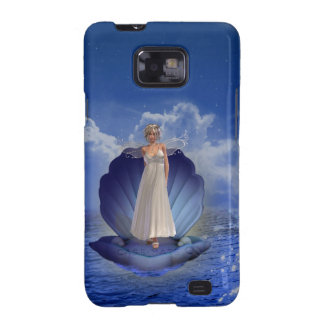 Caja del teléfono del ángel del agua samsung galaxy s2 carcasa