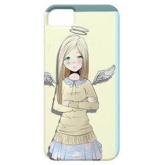 Caja del teléfono del ángel iPhone 5 Case-Mate cobertura