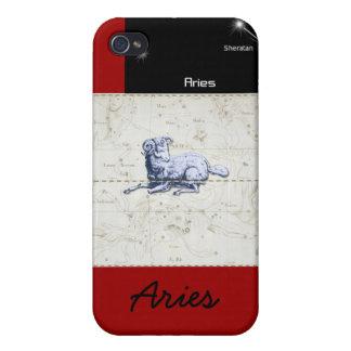 Caja del teléfono del aries iPhone 4 carcasa