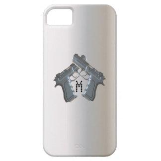 Caja del teléfono del arma funda para iPhone SE/5/5s