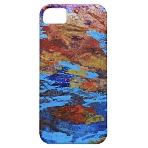 Caja del teléfono del arte abstracto funda para iPhone SE/5/5s