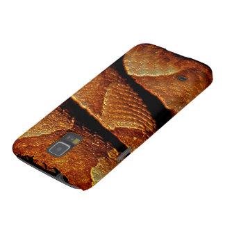 Caja del teléfono del arte de la escala de la serp carcasa para galaxy s5