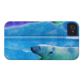 Caja del teléfono del arte de la fantasía del oso Case-Mate iPhone 4 cárcasa