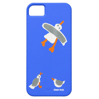 Caja del teléfono del arte: Gaviotas el tintóreo Funda Para iPhone 5 Barely There
