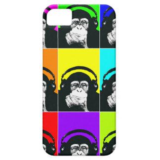 Caja del teléfono del arte pop del mono de la cade iPhone 5 fundas