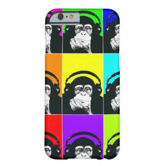 Caja del teléfono del arte pop del mono de la funda para iPhone 6 barely there