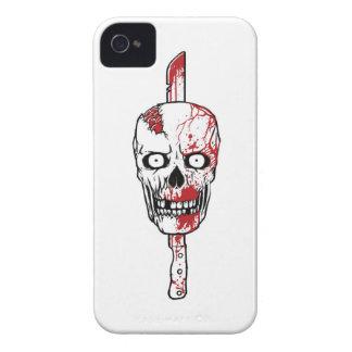 Caja del teléfono del asesino i del zombi iPhone 4 Case-Mate fundas