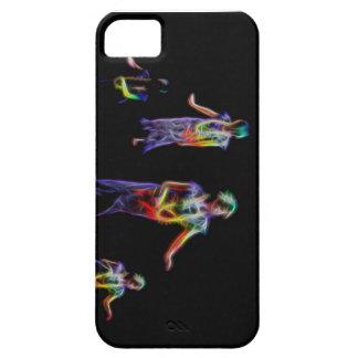 Caja del teléfono del bailarín de Hula iPhone 5 Funda