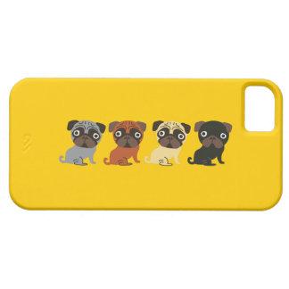 Caja del teléfono del barro amasado iPhone 5 Case-Mate cobertura
