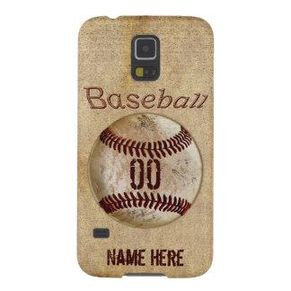 Caja del teléfono del béisbol de la galaxia S5 de  Carcasas De Galaxy S5