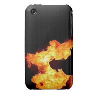caja del teléfono del bombero carcasa para iPhone 3