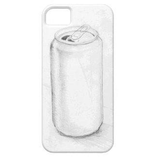Caja del teléfono del bosquejo de la poder de soda iPhone 5 carcasa