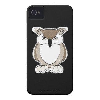 Caja del teléfono del búho Case-Mate iPhone 4 fundas