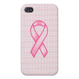 Caja del teléfono del cáncer de pecho iPhone 4 protector