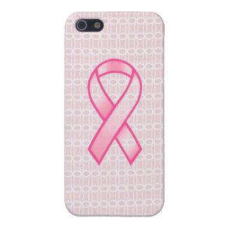 Caja del teléfono del cáncer de pecho iPhone 5 carcasa
